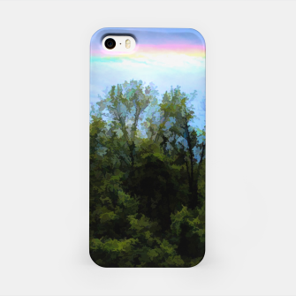 Thumbnail image of Rockford Park With Rainbow iPhone Case, Live Heroes