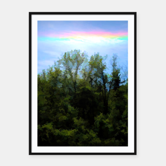 Thumbnail image of Rockford Park With Rainbow Framed poster, Live Heroes