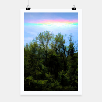 Thumbnail image of Rockford Park With Rainbow Poster, Live Heroes