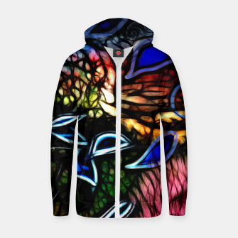 Thumbnail image of Remember The Sunrise Zip up hoodie, Live Heroes