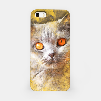 Miniature de image de cat Smokey Obudowa iPhone, Live Heroes