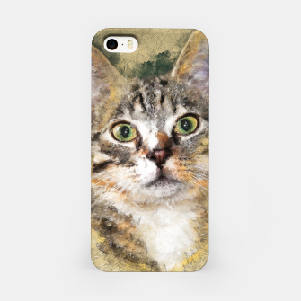 Miniature de image de cat Tiger Obudowa iPhone, Live Heroes