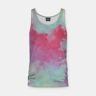 Miniatur space art Tank Top, Live Heroes