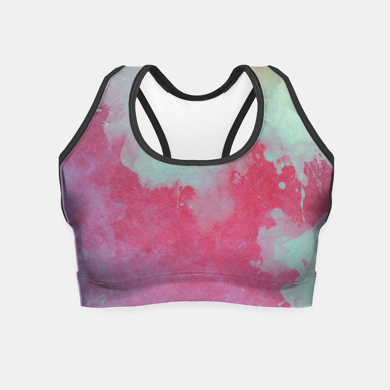 Image of space art Crop Top - Live Heroes