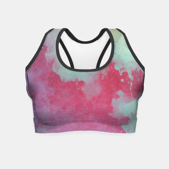Miniature de image de space art Crop Top, Live Heroes