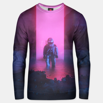 Thumbnail image of Astronaut in pink Unisex sweater, Live Heroes