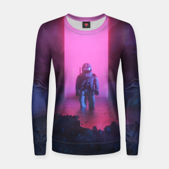 Thumbnail image of Astronaut in pink Women sweater, Live Heroes