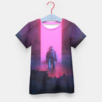 Thumbnail image of Astronaut in pink Kid's t-shirt, Live Heroes