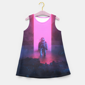Thumbnail image of Astronaut in pink Girl's summer dress, Live Heroes