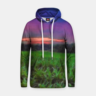 Thumbnail image of Sunset Over a Cornfield Hoodie, Live Heroes