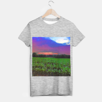 Thumbnail image of Sunset Over a Cornfield T-shirt regular, Live Heroes
