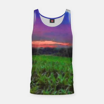Thumbnail image of Sunset Over a Cornfield Tank Top, Live Heroes