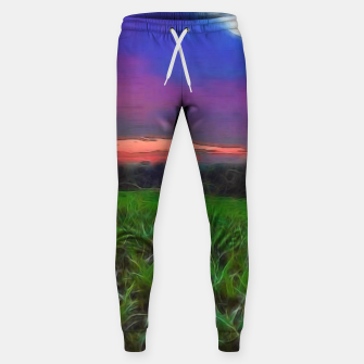 Thumbnail image of Sunset Over a Cornfield Sweatpants, Live Heroes