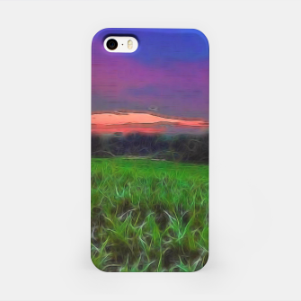 Thumbnail image of Sunset Over a Cornfield iPhone Case, Live Heroes