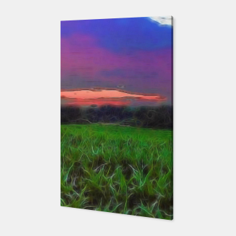 Thumbnail image of Sunset Over a Cornfield Canvas, Live Heroes