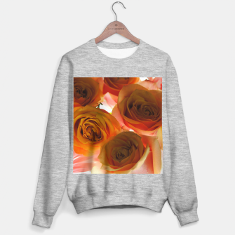 Miniaturka Pastel Pink and Orange Roses Sweater regular, Live Heroes