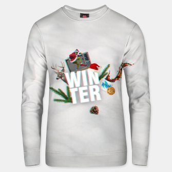 Thumbnail image of winter  Unisex sweater, Live Heroes