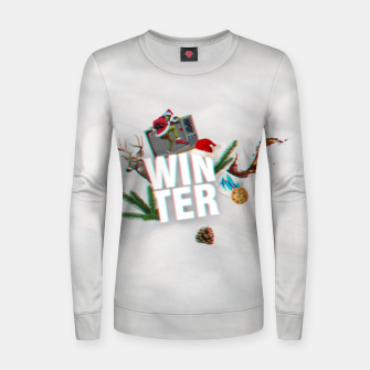 Thumbnail image of winter  Women sweater, Live Heroes