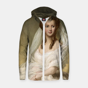 Miniaturka Portrait Of Princess Alexandra Zip up hoodie, Live Heroes