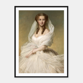 Thumbnail image of Portrait Of Princess Alexandra Framed poster, Live Heroes