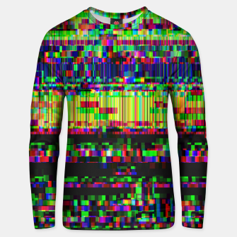 Miniatur GLITCHED2HELL Unisex sweater, Live Heroes