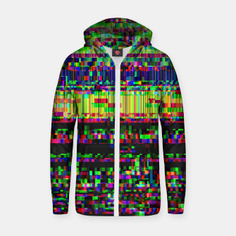 Miniatur GLITCHED2HELL Zip up hoodie, Live Heroes
