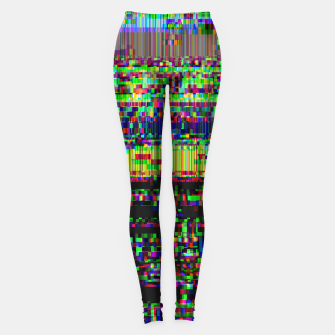 Miniatur GLITCHED2HELL Leggings, Live Heroes