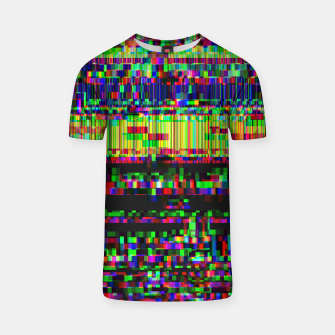 Miniatur GLITCHED2HELL T-shirt, Live Heroes