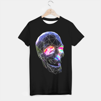 Miniatur Technicolor Skull T-shirt regular, Live Heroes