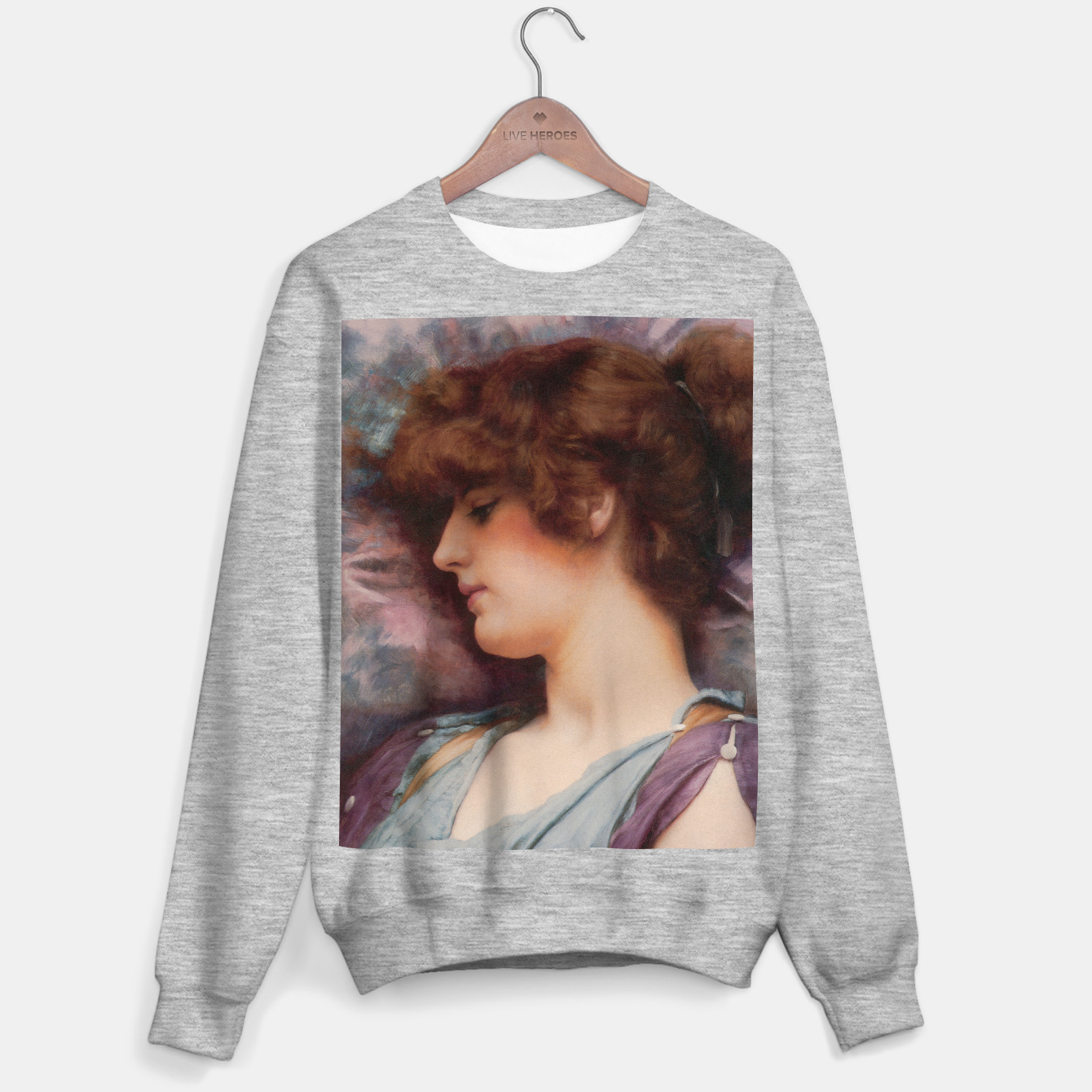 Image of Far Away Thoughts by John William Godward Sweater regular - Live Heroes