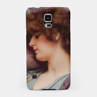 Thumbnail image of Far Away Thoughts by John William Godward Samsung Case, Live Heroes