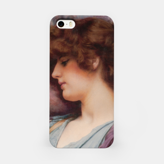 Thumbnail image of Far Away Thoughts by John William Godward iPhone Case, Live Heroes