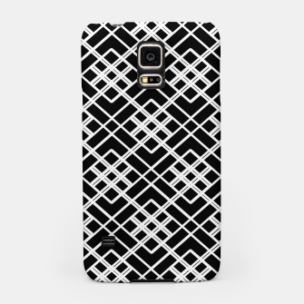 Thumbnail image of Abstract geometric pattern - black and white. Samsung Case, Live Heroes