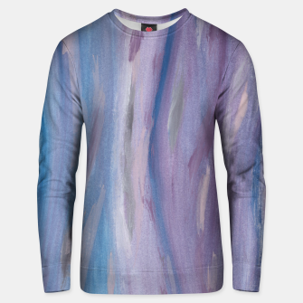 Thumbnail image of Touching Purple Blue Watercolor Abstract #2 #painting #decor #art Unisex sweatshirt, Live Heroes