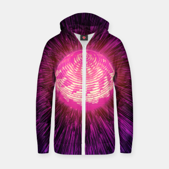 Thumbnail image of ENERGY SPHERE Zip up hoodie, Live Heroes