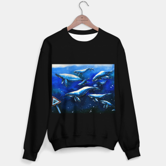 Miniaturka whales Sweater regular, Live Heroes