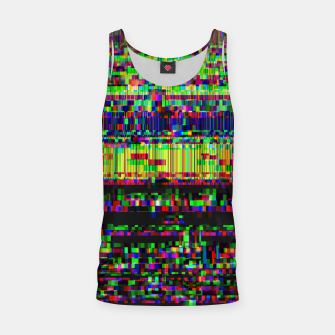 Miniatur GLITCHED2HELL Tank Top, Live Heroes