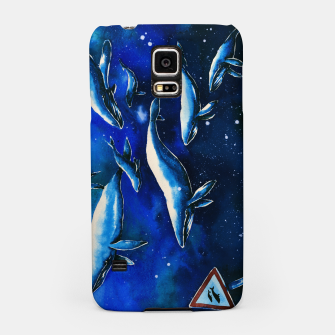 Miniatur whales Samsung Case, Live Heroes