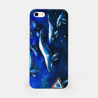 Miniatur whales iPhone Case, Live Heroes