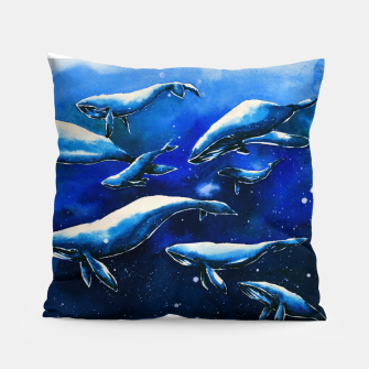 Miniatur whales Pillow, Live Heroes