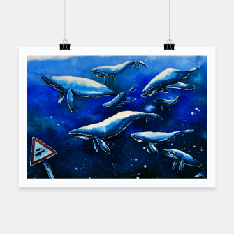 Miniatur whales Poster, Live Heroes