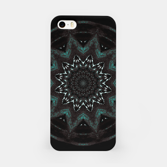 Imagen en miniatura de Nature spirit tree mandala dark  iPhone Case, Live Heroes
