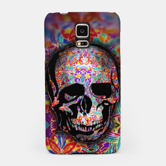 Thumbnail image of Skull With Floral Pattern Samsung Case, Live Heroes