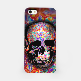 Thumbnail image of Skull With Floral Pattern iPhone Case, Live Heroes