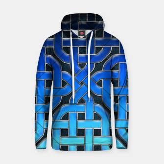 Thumbnail image of Blue Celtic Knot Ice Hoodie, Live Heroes