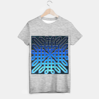 Thumbnail image of Blue Celtic Knot Ice T-shirt regular, Live Heroes