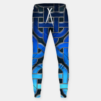 Thumbnail image of Blue Celtic Knot Ice Sweatpants, Live Heroes