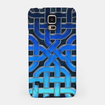 Thumbnail image of Blue Celtic Knot Ice Samsung Case, Live Heroes