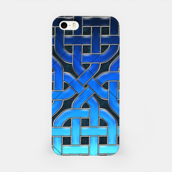 Imagen en miniatura de Blue Celtic Knot Ice iPhone Case, Live Heroes
