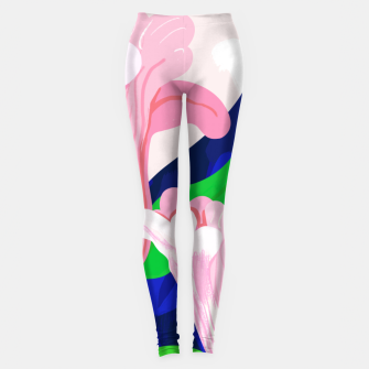 Thumbnail image of Blue Leaf Leggings, Live Heroes